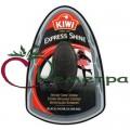 Киви Губка-экспресс с дозатором крема черная